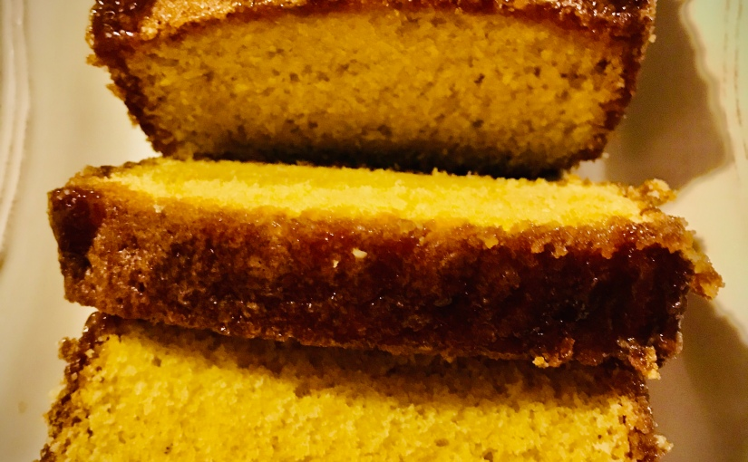 Cake à l'orange de PierreHermé