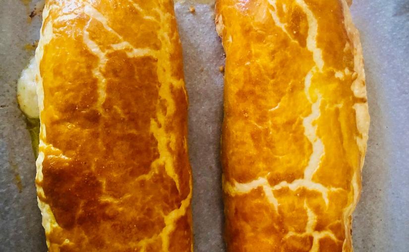 Filet mignon feuilleté au pesto deroquette