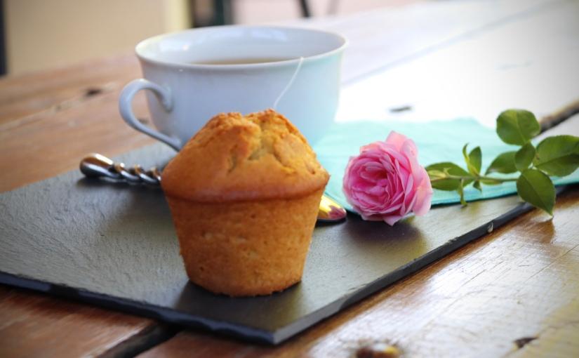 Muffins au citron coeur de lemoncurd