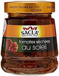 Sacla Tomates Séchées au Soleil Le Pot 280 g: Amazon.fr: Epicerie