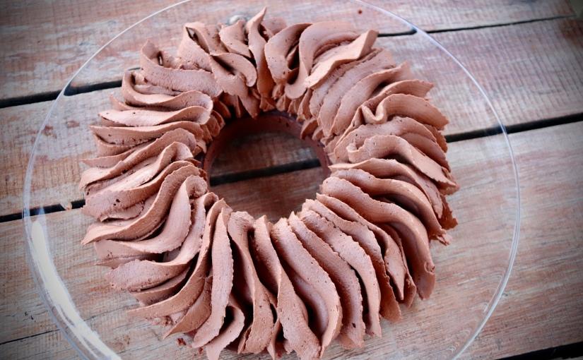 Gâteau mousse auchocolat