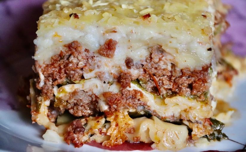 Lasagne aux chouxverts