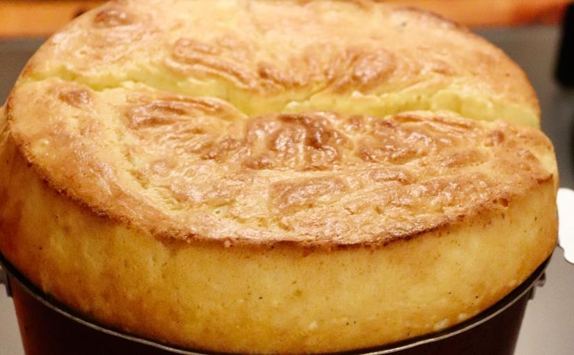 Soufflé aux fromages desmontagnes